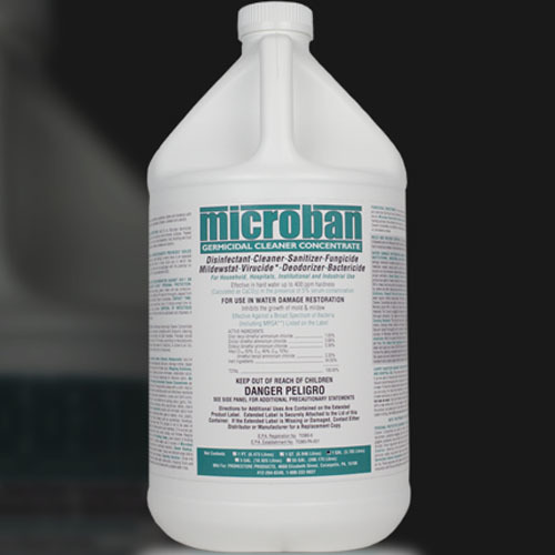 Microban Germicidal Cleaner Concentrate Lemon/Mint